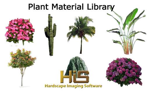 hardscape imaging software plants