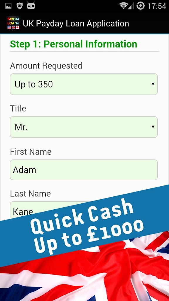 fast cash loans instant