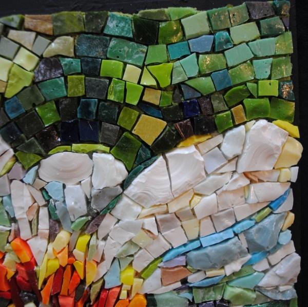 Zinnia In Shady Garden Brenda Pokorny Mow1034 - Beads & Pieces