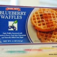 Things I love - Trader Joe's Blueberry Waffles