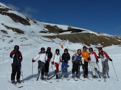 Preparats per esquiar