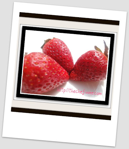 Freezing strawberries by shireen anwer