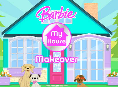 Barbie decorating house and room games