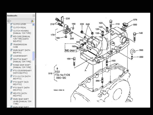 kubota b7500 wiring diagram free download kubota m6800