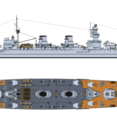udine ansaldo s 1936 project for a russian cruiser featured the best features of italian engineering at the time  [ 1600 x 711 Pixel ]