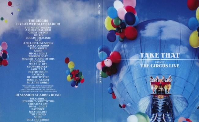Take That The Circus Live Greatest Day 2 22 Dokter Andalan