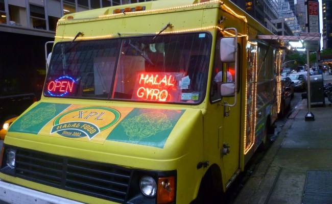 Lost City Cool Food Truck In Midtown