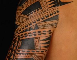 Samoan Sleeve Tattoo Designs