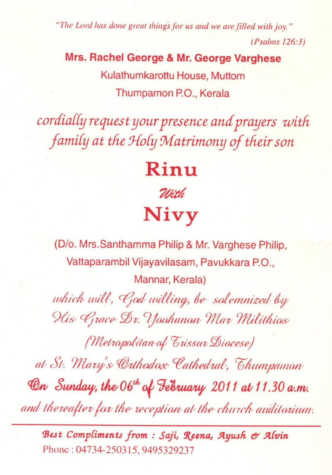 Indian Wedding Invitation Letter Format - drive.cheapusedmotorhome.info