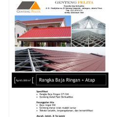 Spesifikasi Baja Ringan Untuk Atap Genteng Pelita Toko Perlengkapan