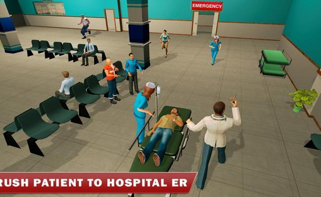 Hospital Er Emergency Heart Surgery Doctor Games