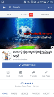 MM Football Live APK