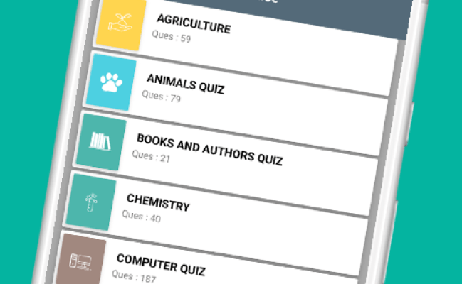 General Knowledge Quiz App Learn And Practice Android