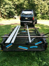 Building a roof rack