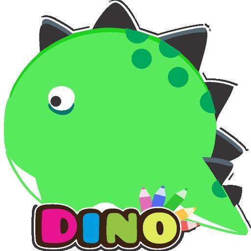 Malvorlage Dino Kinder