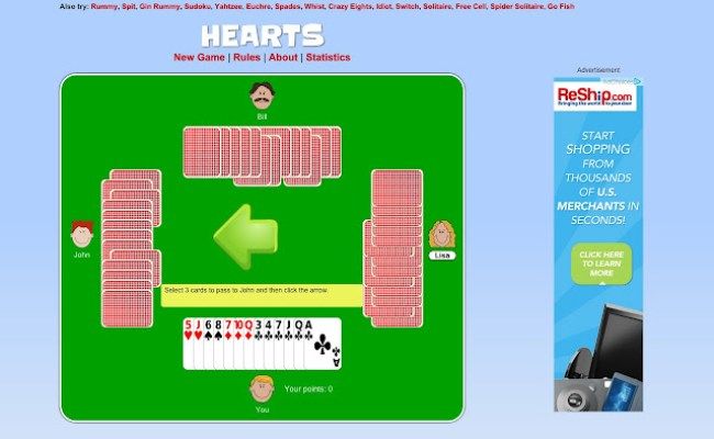 Hearts Chrome Web Store