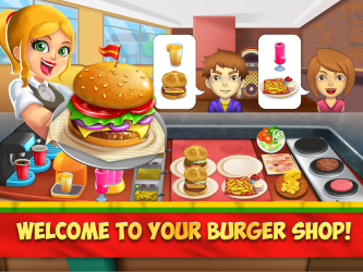 burger restaurant food fast game play version android