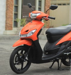 the yamaha mio sporty 2018 still looks exactly the same from the very first release of the model and just few minor changes were undertaken to make this  [ 1575 x 885 Pixel ]