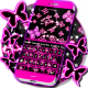 Neon Butterflies Keyboard windows phone