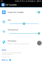 CM TouchMe - Assistive Touch APK