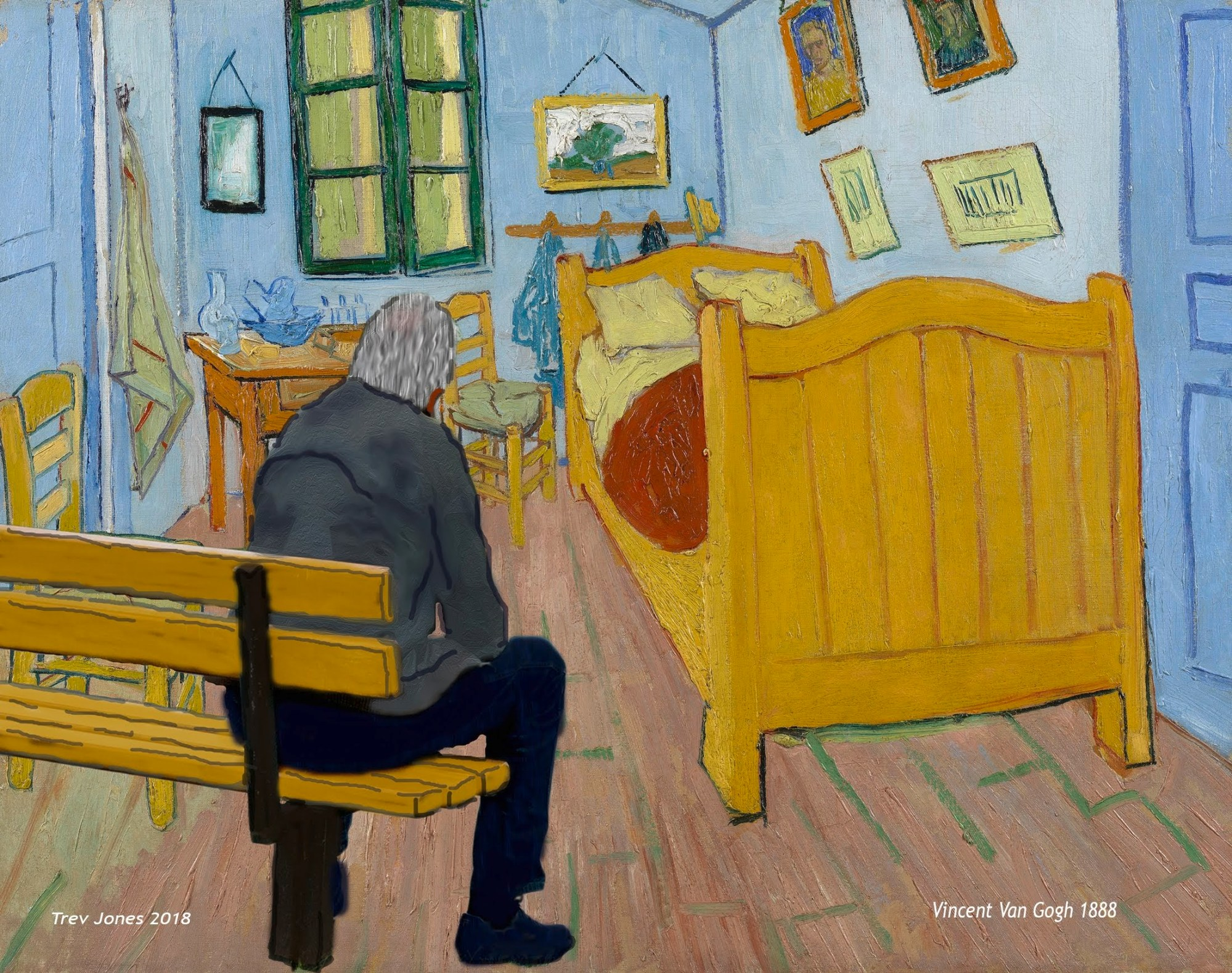 In Van Gogh's Bedroom