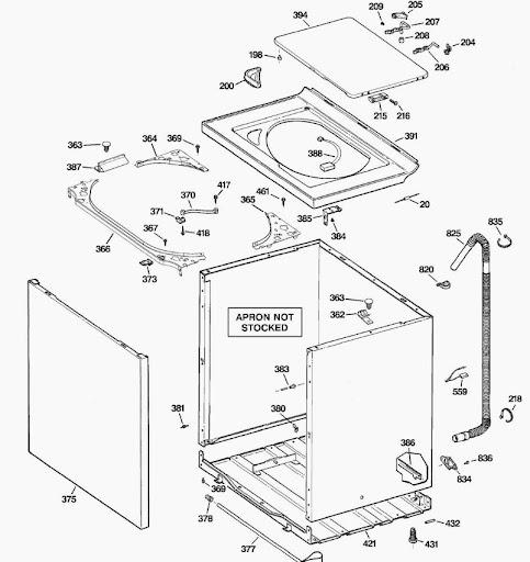 basic washing machine wiring diagram