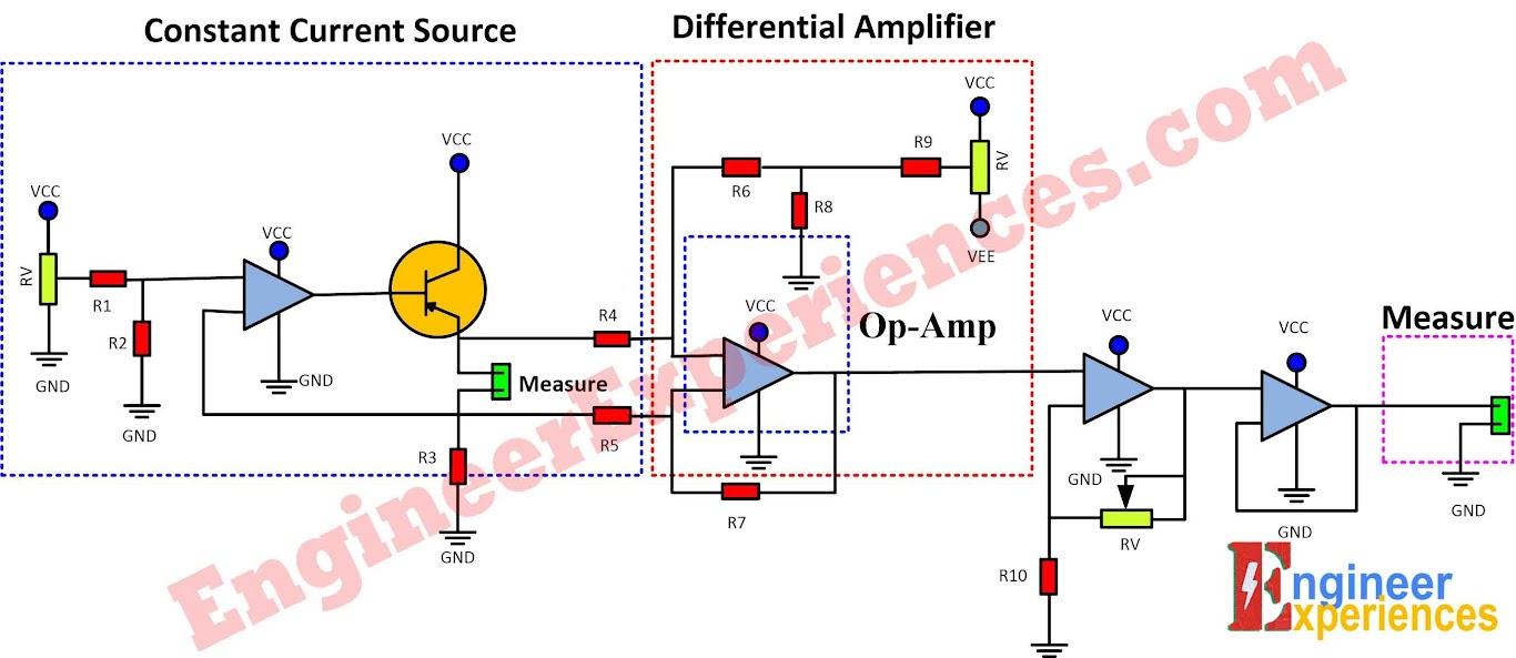 hight resolution of a complete schematic diagram of low resistance measurement meter