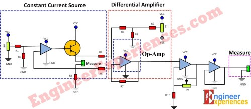 small resolution of a complete schematic diagram of low resistance measurement meter