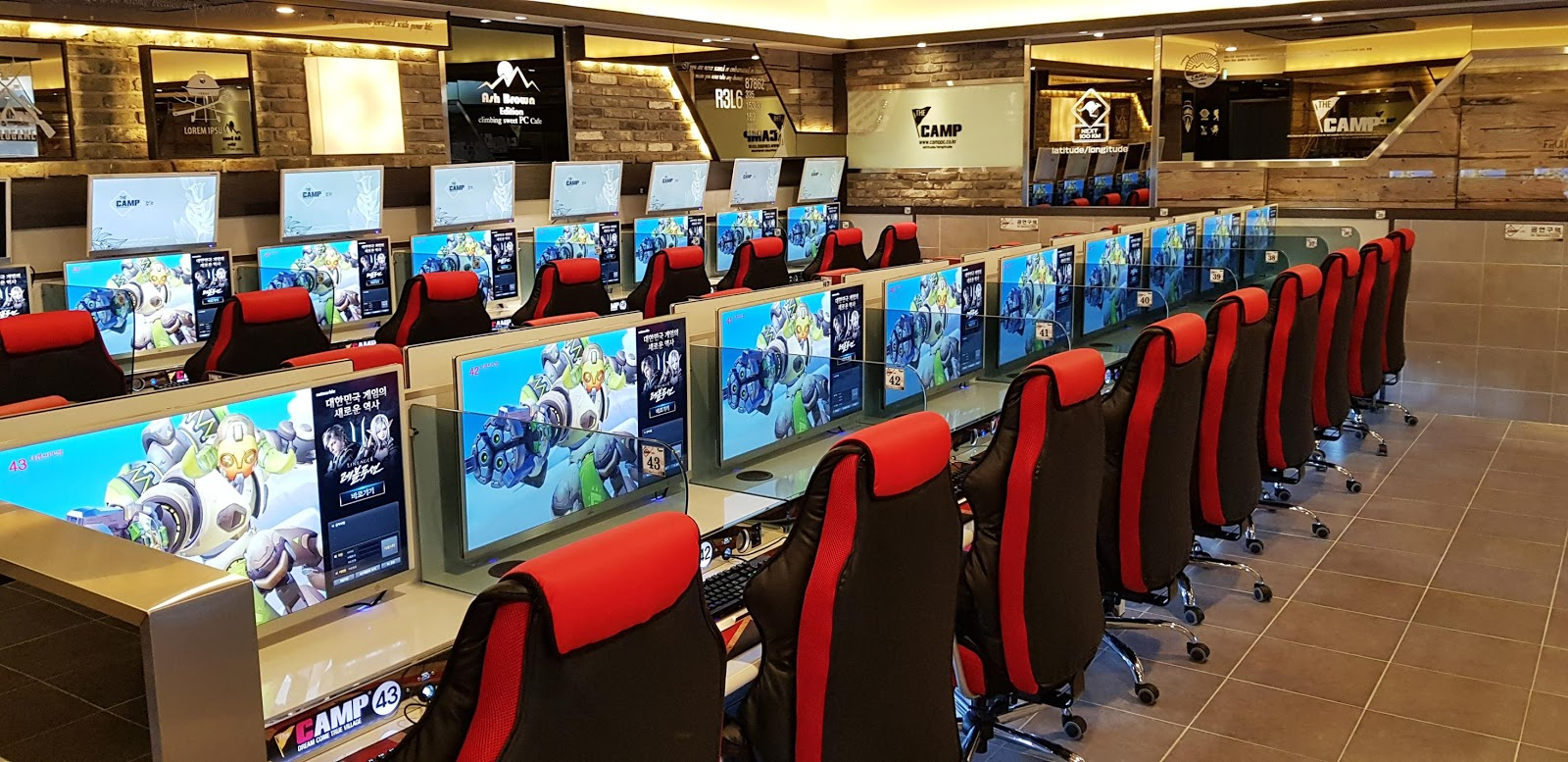 gaming chair with monitors covers for sale on ebay 6 things that surprise foreigners about korean internet cafes