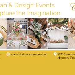 Chair Covers And More Houston Graco High N Inc Wedding Service In Header Image For The Site