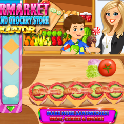 Kitchen Cooking Games Island With Stove Top Supermarket And Grocery Android Apps
