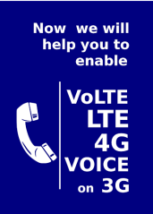 4G-VoLTE Voice Enable in 3G APK
