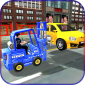 City Police Car Lifter Jogo 3D icon