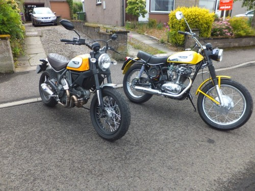 small resolution of scramblers old and new
