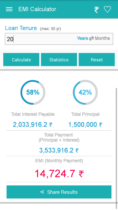 EMI Calculator - Android Apps on Google Play
