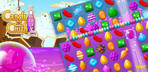 Candy Crush Soda Saga Pour PC Capture d'écran