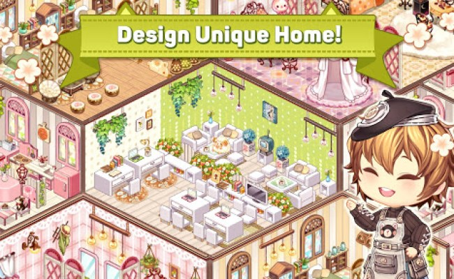 Download Kawaii Home Design Room Decoration Game For Pc