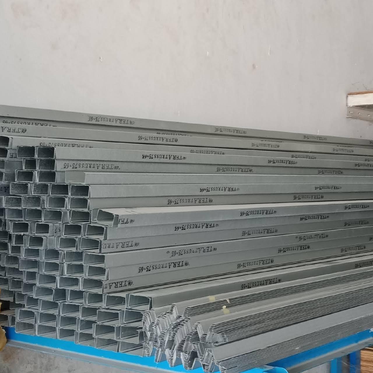 harga baja ringan merk prima jb bangunan pekanbaru toko bahan