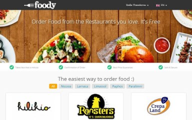 foody- food delivery in Cyprus APK