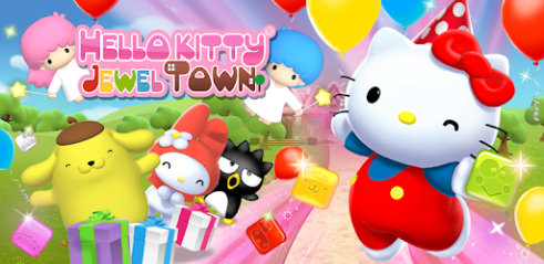 Hello Kitty Ville Bijou ! Pour PC Capture d'écran