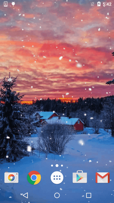 Winter Snow Live Wallpaper - Android Apps on Google Play