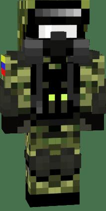 Soldado Colombia Nova Skin