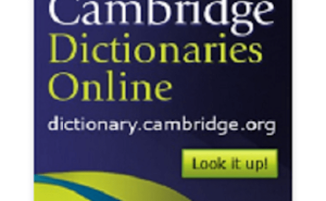 Download Connect Cambridge Dictionary Apk On Pc Download
