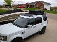 LR4 Roof Rack Flooring and EO2 Case mount project ...