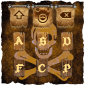 Skeleton Animated Keyboard icon