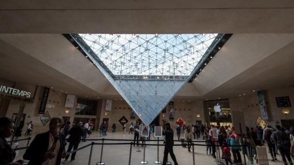 Inside Louvre Museum