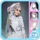 White Wedding Dress Hijab windows phone