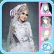 White Wedding Dress Hijab windows phone