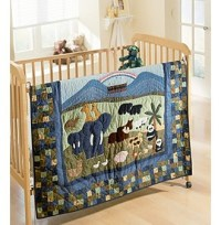 Noah's Ark Baby Bedding Quilt Collection by Donna Sharp ...