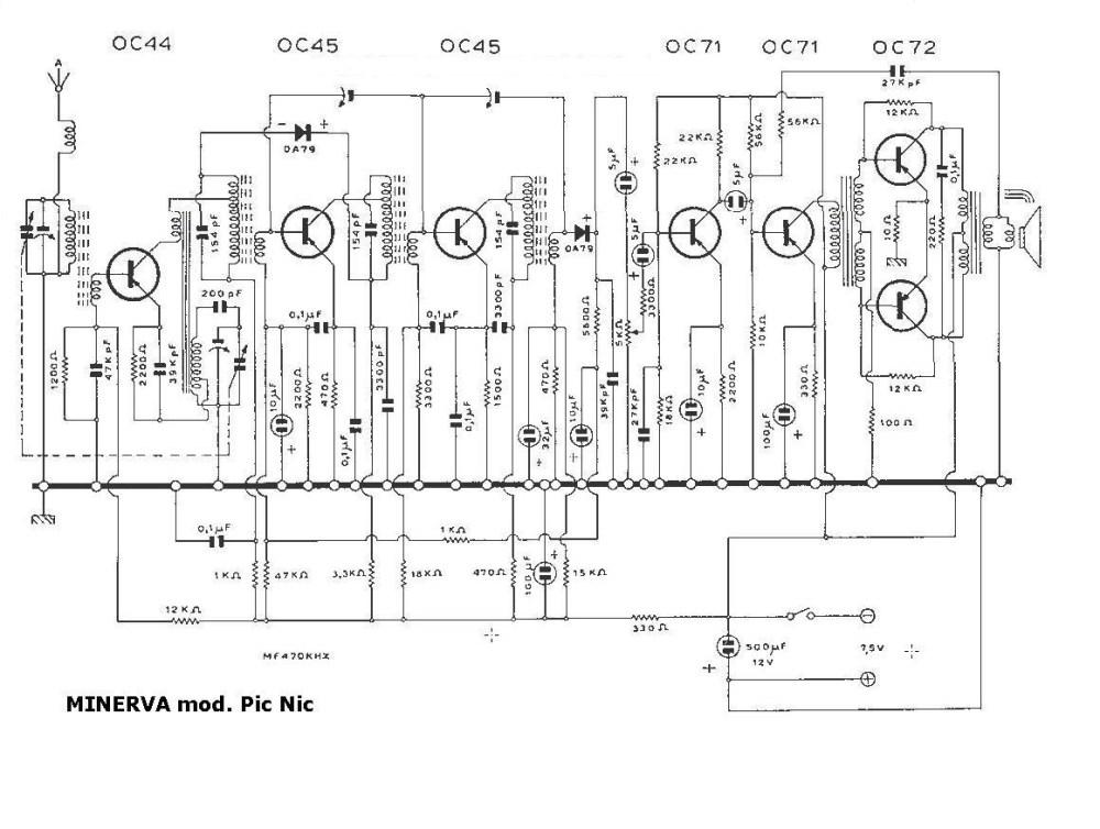 medium resolution of radio circuit board diagram